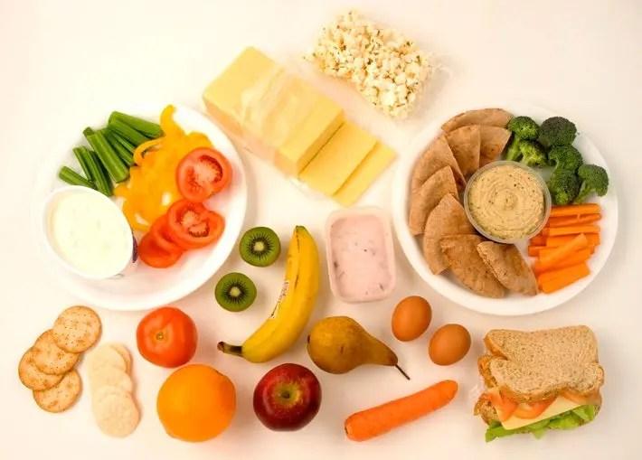 Snacks para llevar a una maratón