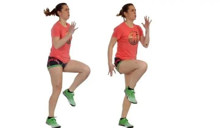 Movimientos para mejorar tu técnica de carrera