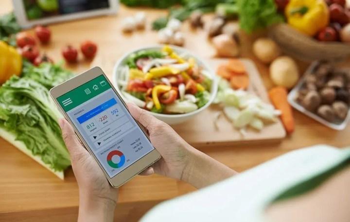 Ventajas de registrar los alimentos que comemos