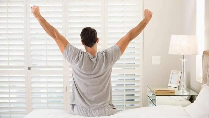 Cómo despertar relajado y lleno de energía