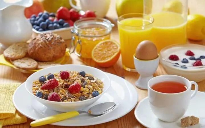 Desayunar para incrementar el apetito