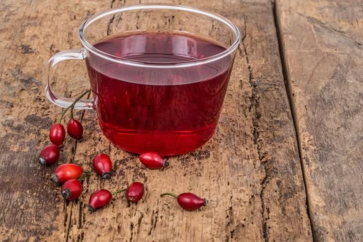 Beneficios del té de rosa mosqueta