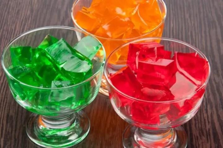 La gelatina es un excelente snack para correr