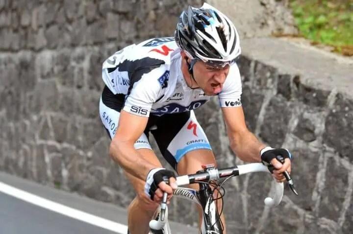 Los ciclistas pierden grasa para ganar velocidad