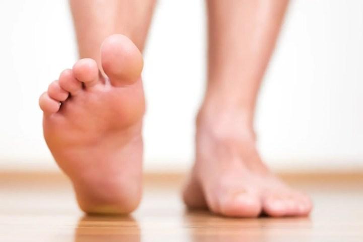 Yoga para pies para corredores