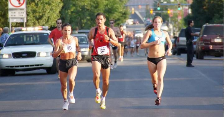 Entrenar semanas antes de una maratón
