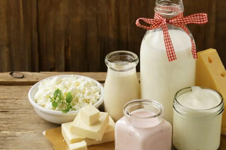 Cantidad de zinc en lácteos