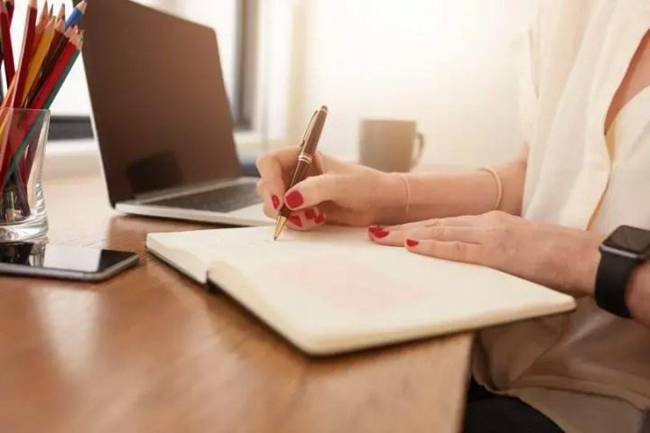 Marcar tus objetivos para un nuevo día como buen hábito