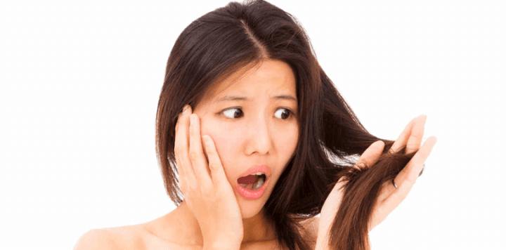 Debilidad del cabello por carencia de vitamina C