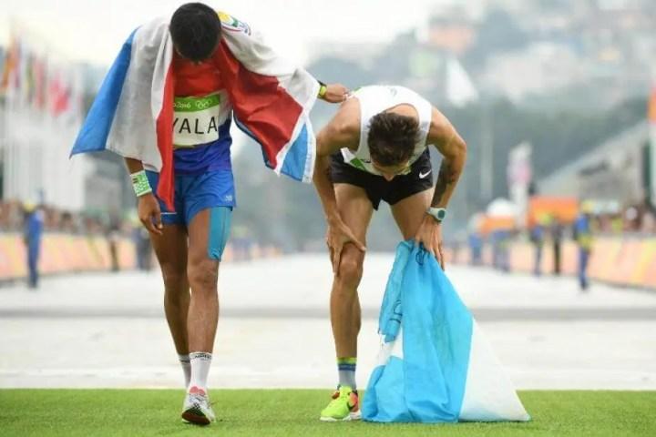 Los problemas que implican correr una maratón