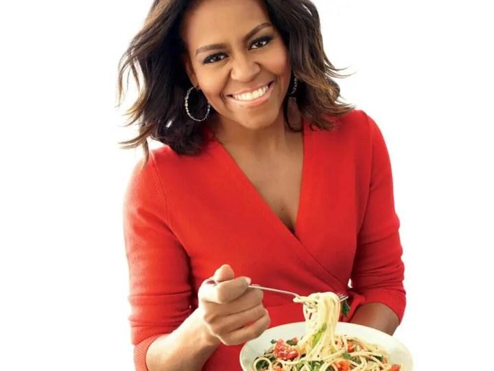 Comida favorita de Michelle Obama