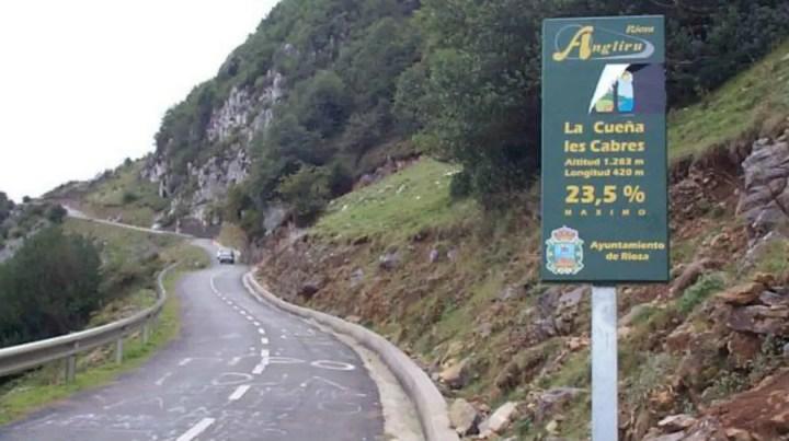 La colina ciclista más dura de España