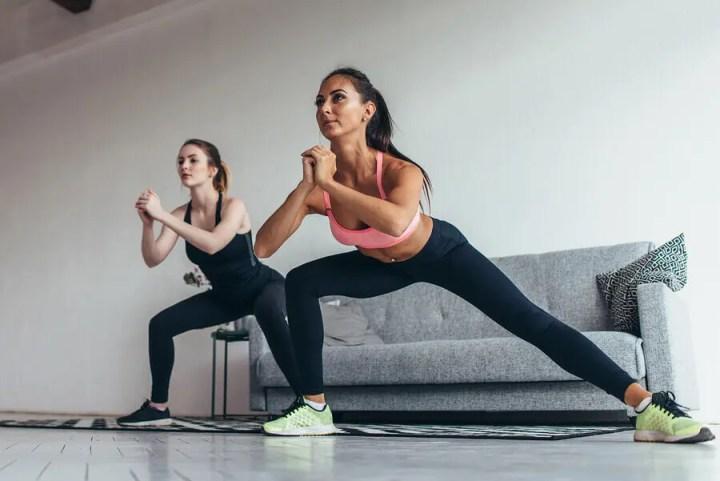 Ejercicios con peso corporal para rutina Tabata