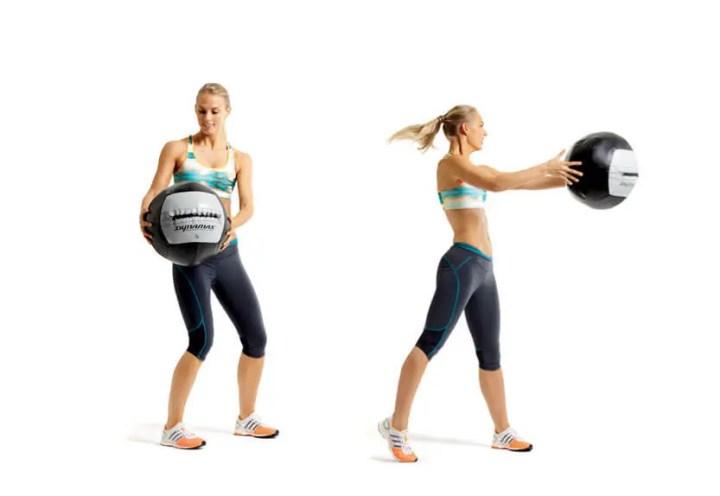 Tipos de balón medicinal para entrenar
