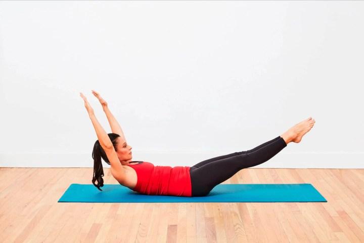 Ejercicios para principiantes en Pilates