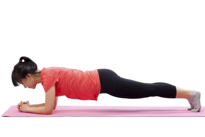 Cómo hacer más desafiante la ejecución de planks