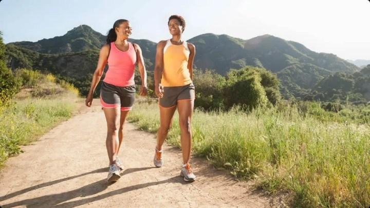 Rutina de entrenamiento de caminata HIIT