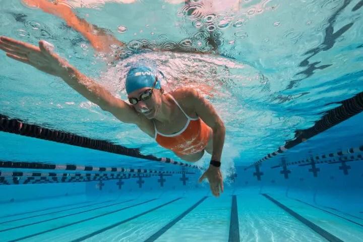 carga de entrenamiento adecuada en natación