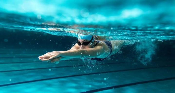 Rutina de natación para triatletas específica