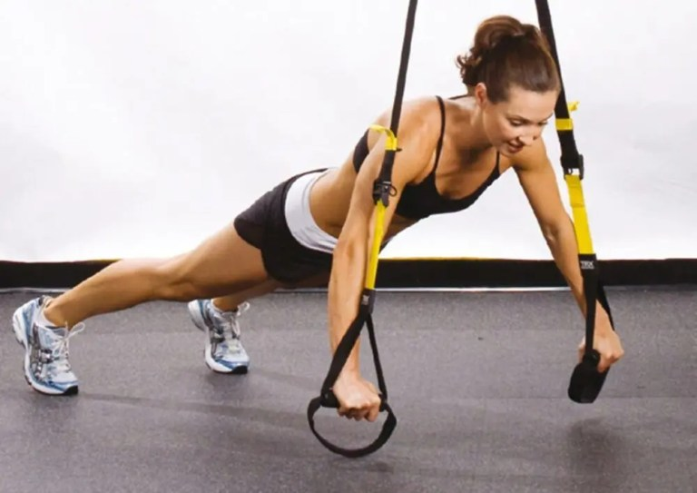Equipo básico de TRX para ejercicios