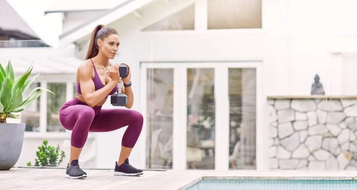 Entrenar en casa para mantener la masa muscular