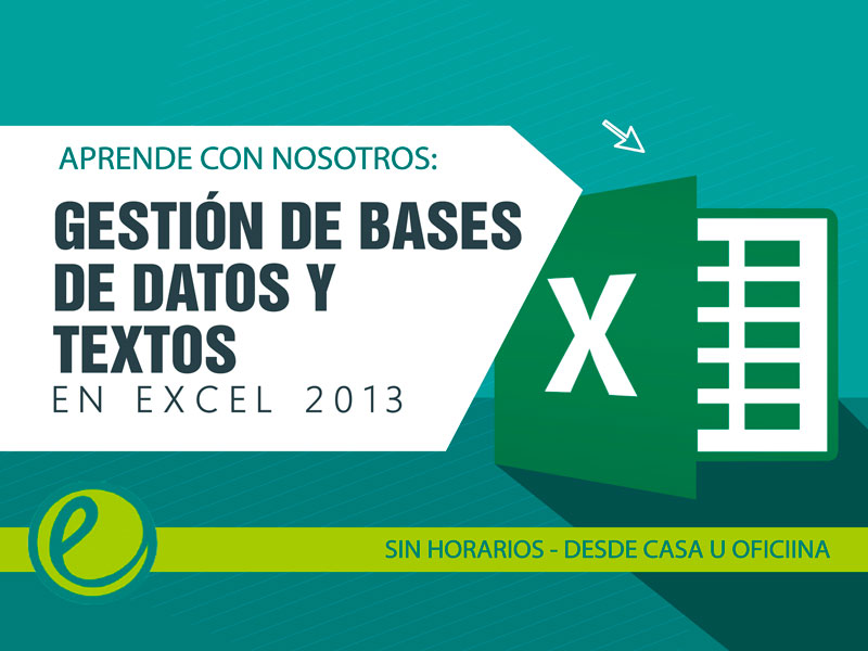 Bases de datos Excel