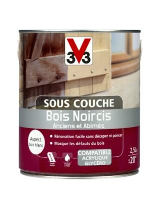 Sous Couche Bois Noircis Incolore 2 5 Litres V33 408022 Sol Et Mur Interieur L Entrepot Du Bricolage