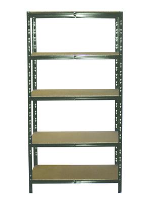 etagere charge lourde bois metal 180x90cm profondeur 40 cm