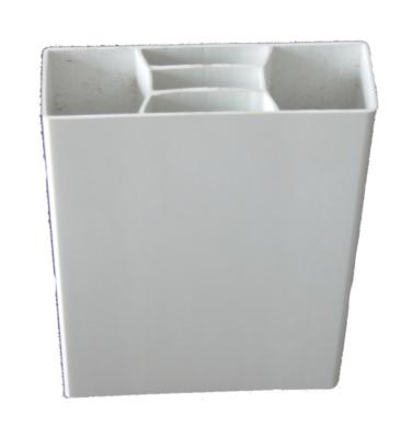 Lisse Plate En Pvc Blanc 2400 X 100 Mm Pour Cloture Morey 538850 Exterieur Jardin L Entrepot Du Bricolage