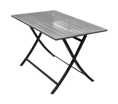 table de jardin elen pliante l110 x l70 cm pro loisirs