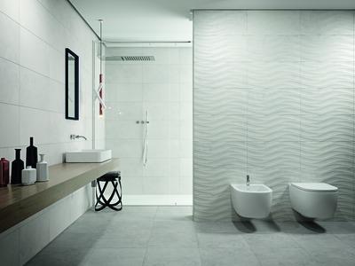 carrelage sol et mur barcelone gris beton h 30 x l 60 cm ceram industrie