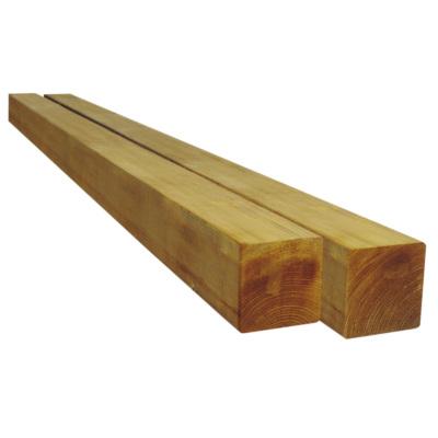 poteau en pin eco pour panneau bois h 90 x ep 90 x l 1800 mm hillhout