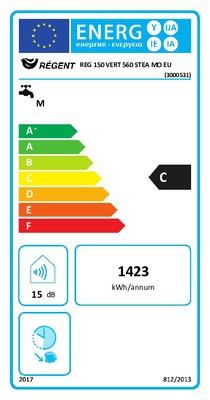 Chauffe Eau Electrique Vertical Avec Resistance Steatite 150 L Regent 993769 Plomberie L Entrepot Du Bricolage