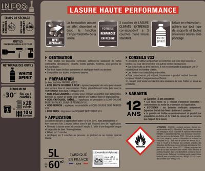 Lasure Climats Extremes Exterieure Chene Clair 5 L V33 1114727 Exterieur Jardin L Entrepot Du Bricolage