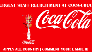 Coca-Cola Nigeria Recruitment 2018 Application Form