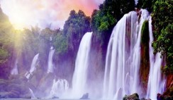 The waterfalls in Nigeria
