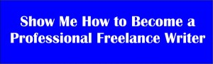 make money as freelance writer