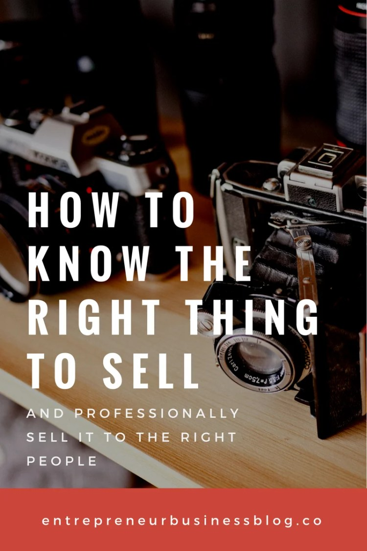 How to know what to sell online