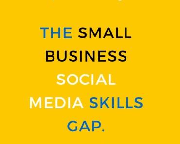 Social media skills gap