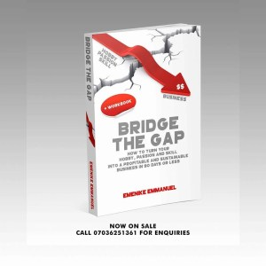 Bridge the gap and turn your passion to profit