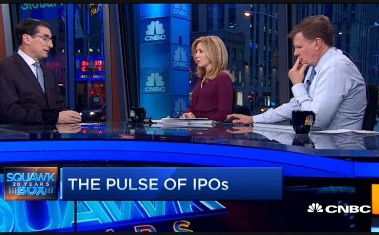 Squawk Box on CNBC by Joe Kernen, Becky Quick and Andrew Ross Sorkin