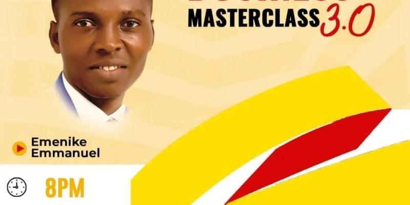 Blogging business masterclass by Emenike Emmanuel