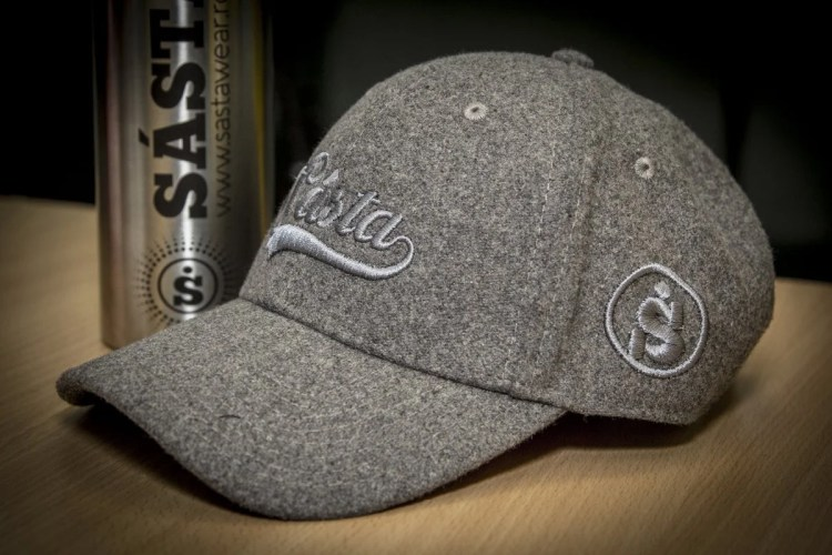 Embroidered work cap used in branding and marketing