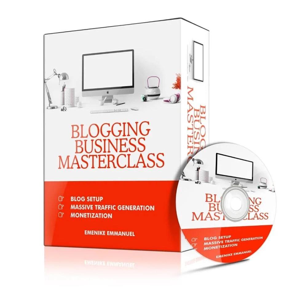 Blogging tutorial, Blogging business, Blogging business masterclass, Blogging training, multimillion naira blogger