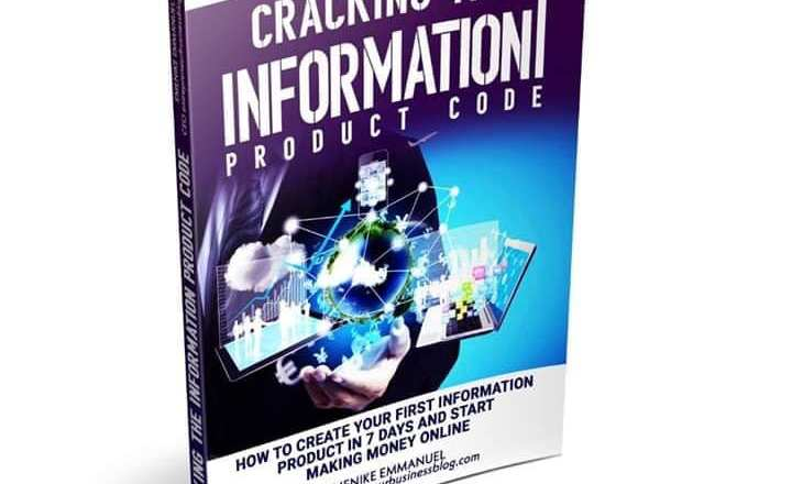 Create an information product that sells