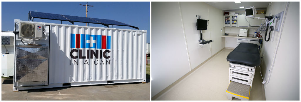 The best shipping container emergency hospital