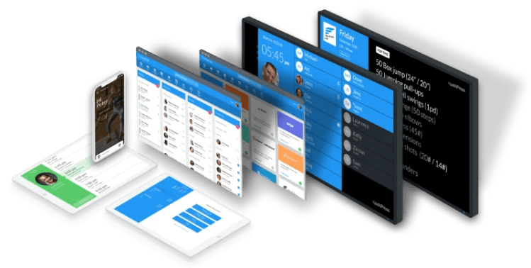 Social media, payroll, email marketing and project management software