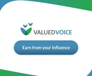 How to make money from your blog using ValuedVoice