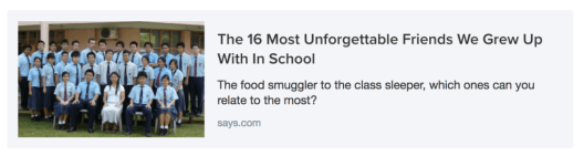 Says Sponsored Content 1