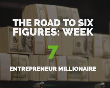 The Road to Six Figures Challenge Week 7